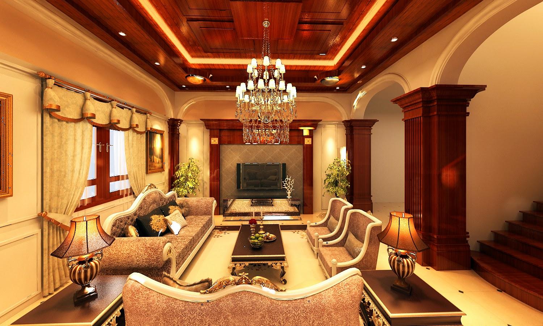 Thiết kế phòng khách chuẩn phong thủy cho lâu đài, biệt thự
