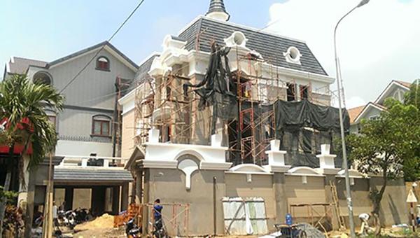 Sửa chữa cải tạo lâu đài, biệt thự chuẩn phong thủy