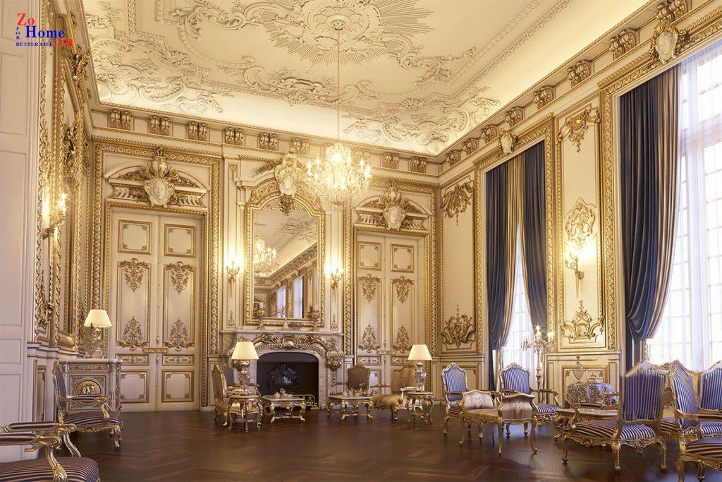 Thiết kế lâu đài sang trọng
